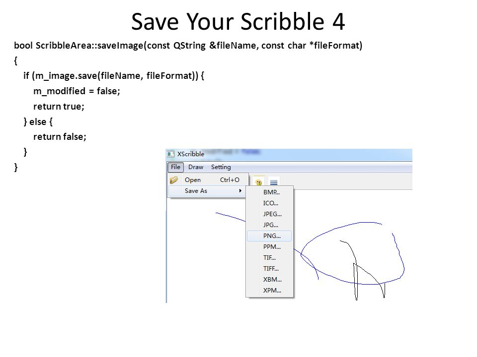 Save Your Scribble 4