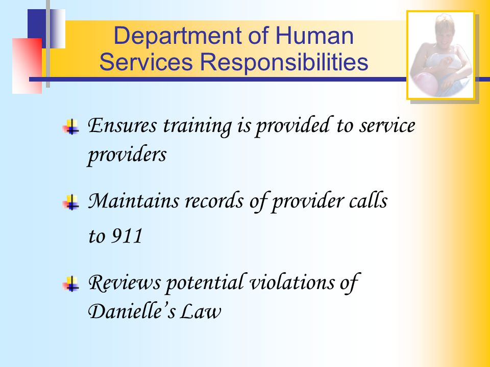 Services Responsibilities