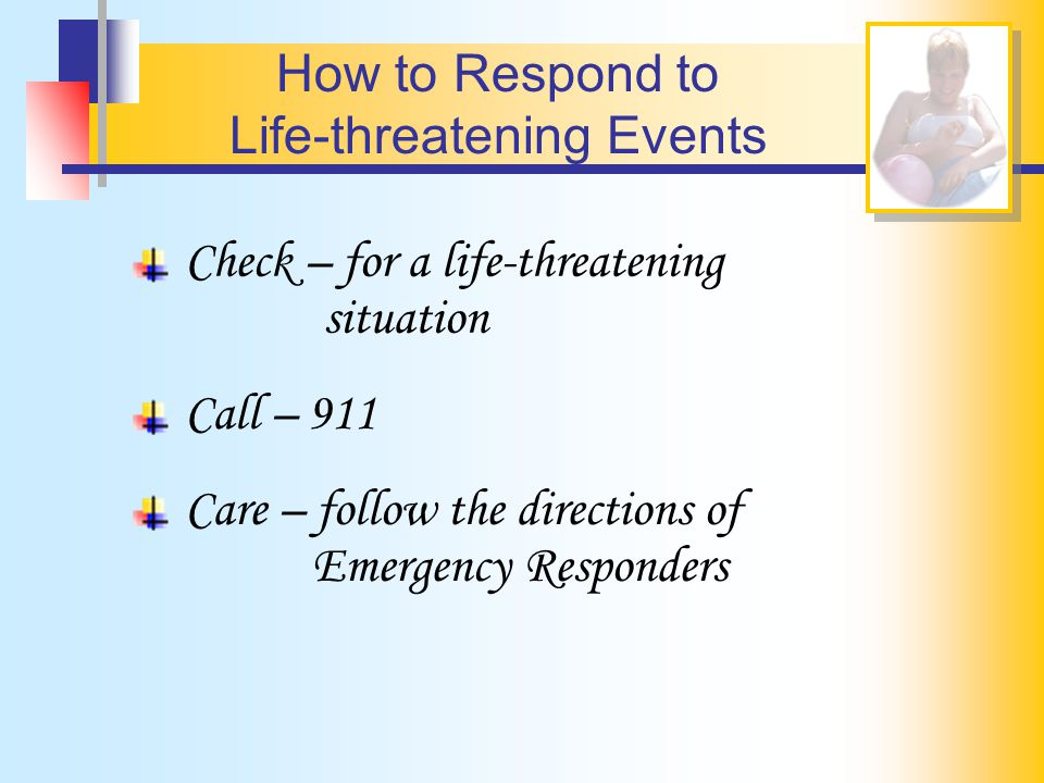 Life-threatening Events