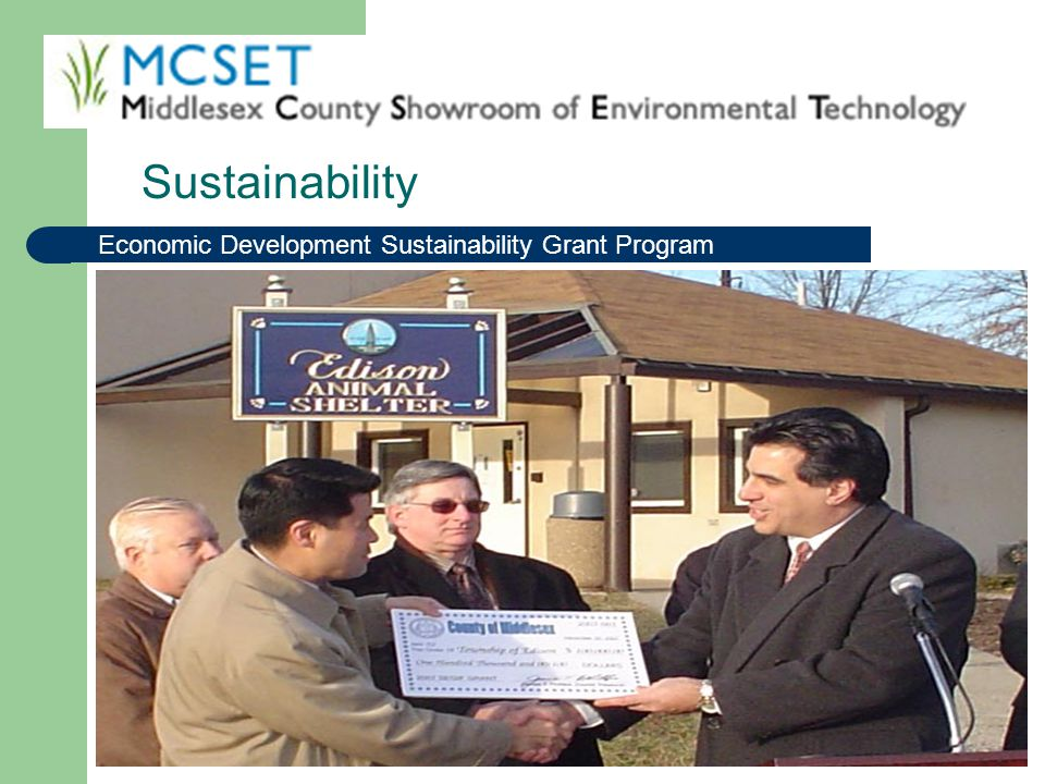Sustainability Economic Development Sustainability Grant Program