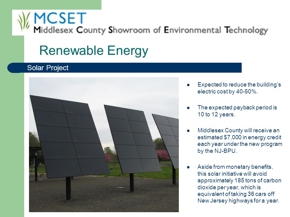 Renewable Energy Solar Project