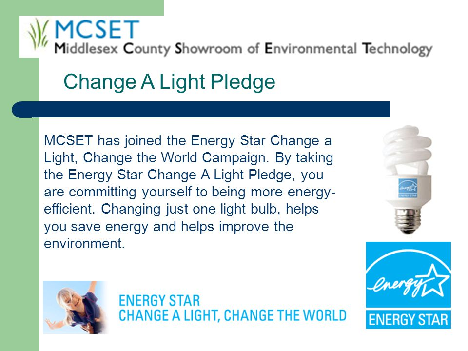 Change A Light Pledge
