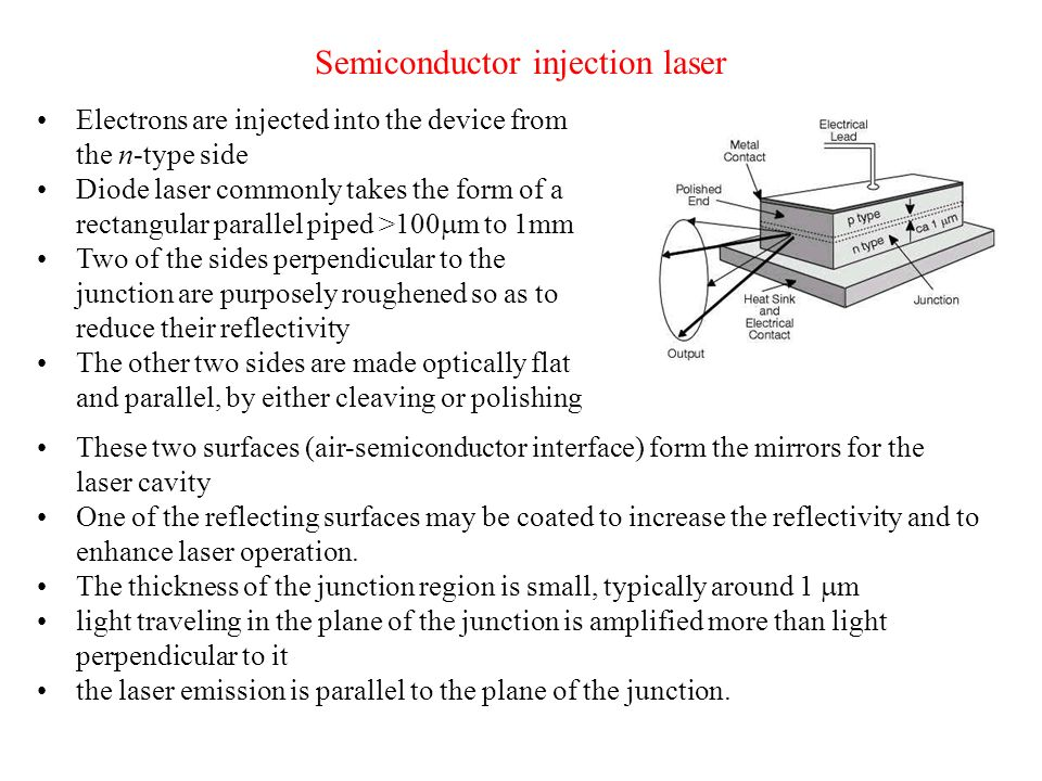 Semiconductor injection laser