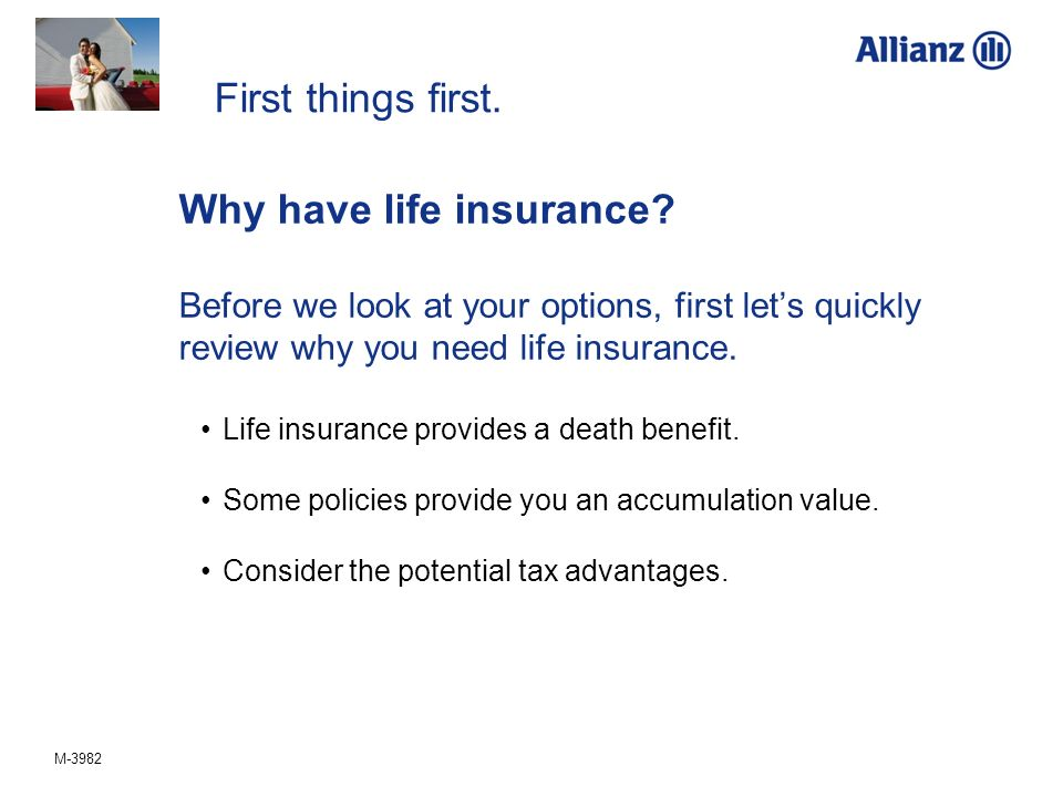 Why have life insurance