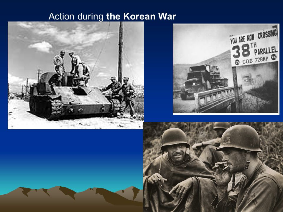 Action during the Korean War
