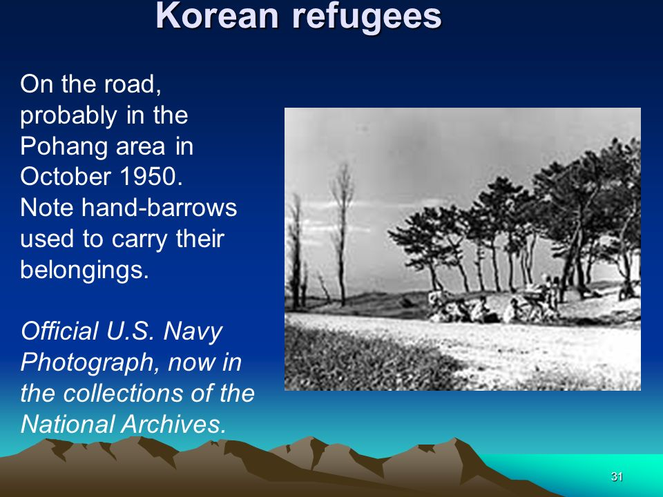 Korean refugees