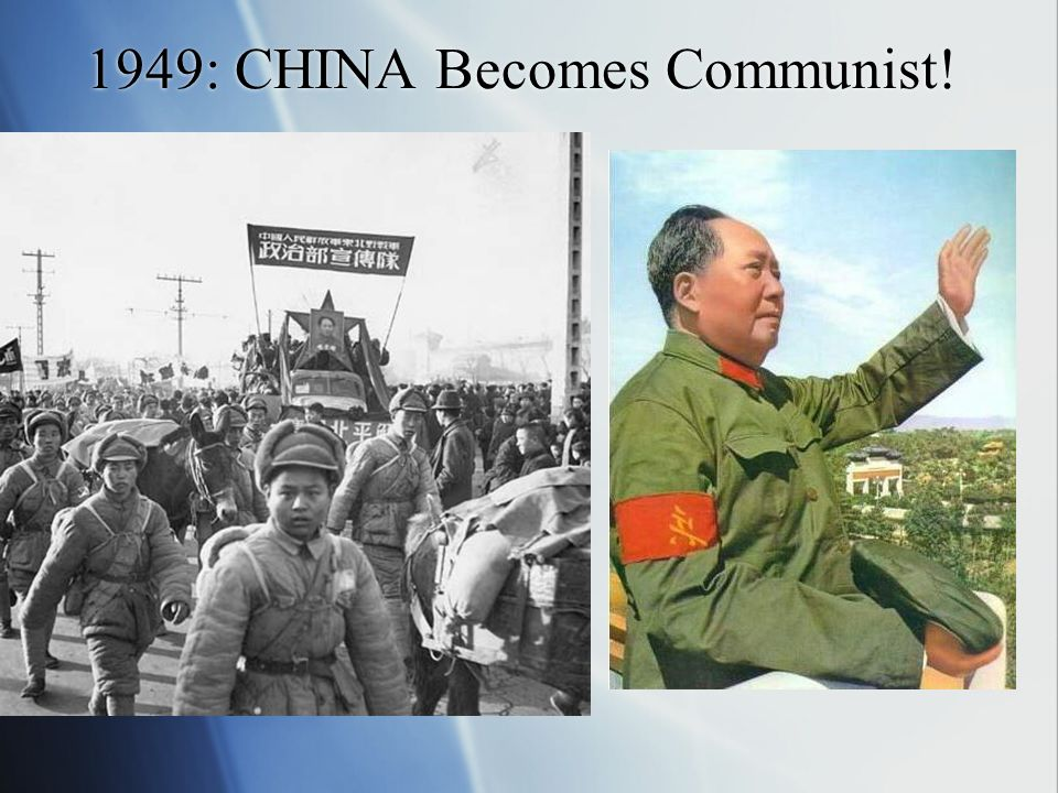1949: CHINA Becomes Communist!