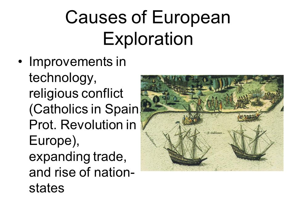Causes of European Exploration