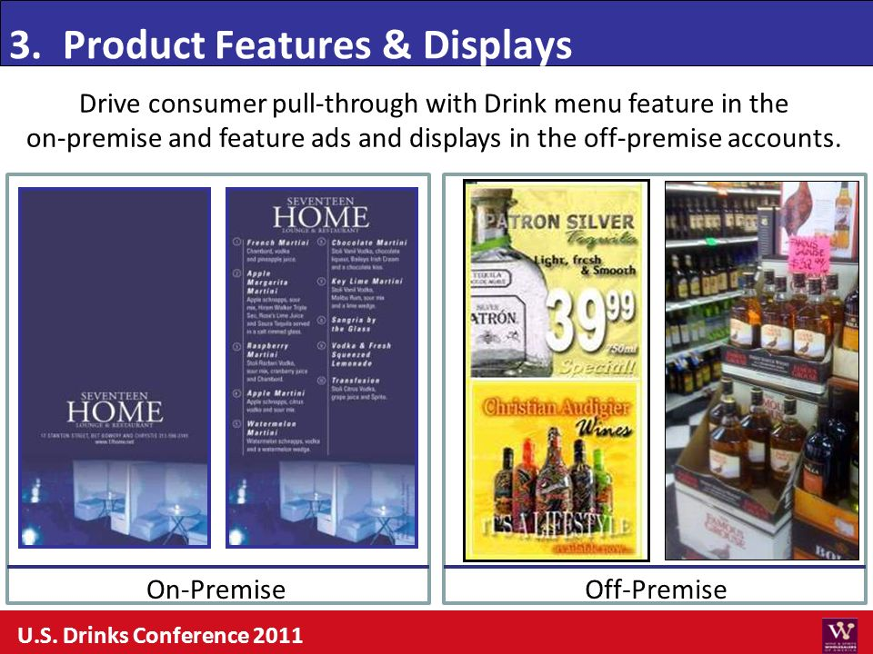 3. Product Features & Displays