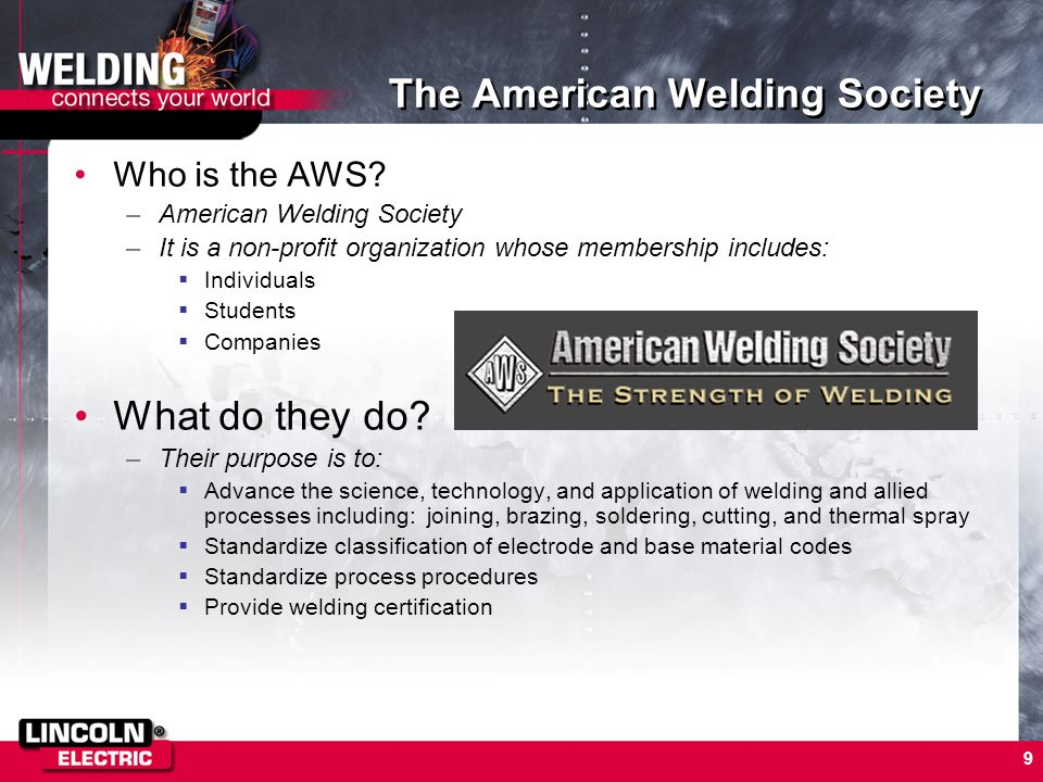 The American Welding Society