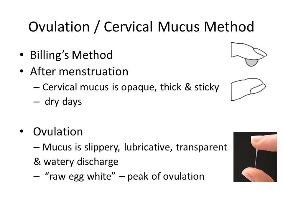 Ovulation / Cervical Mucus Method - ppt video online download