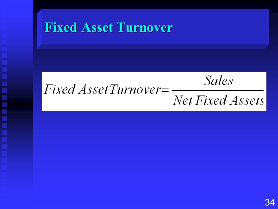 Fixed Asset Turnover