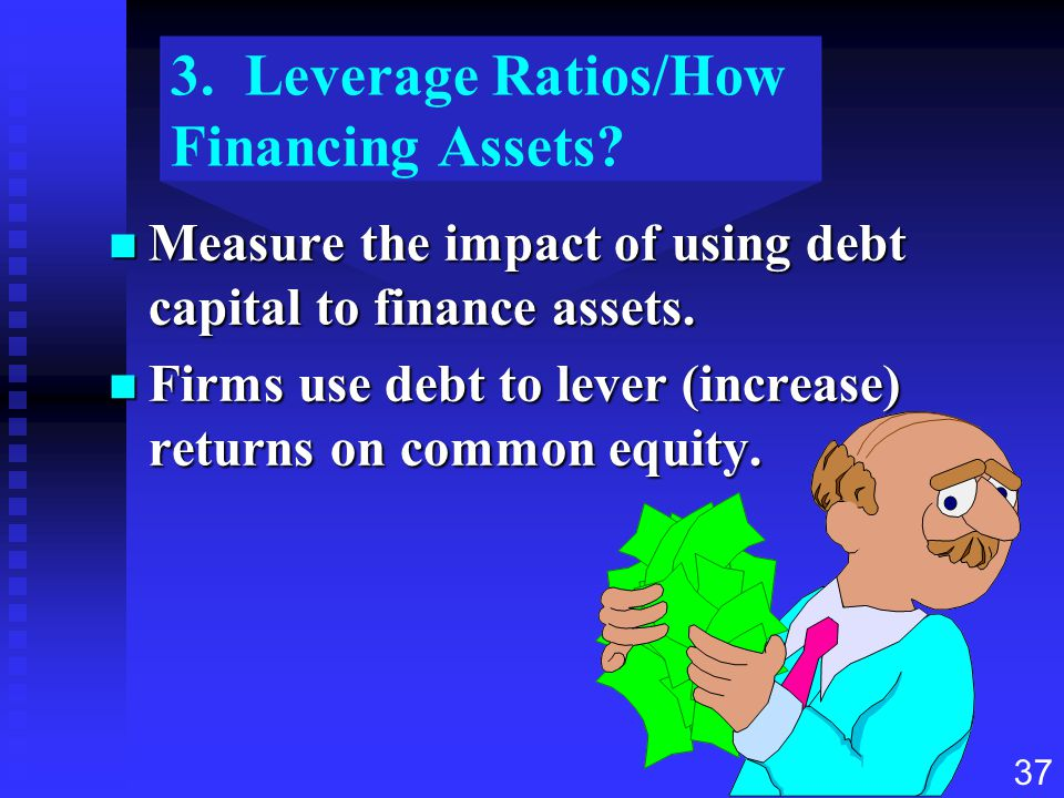 3. Leverage Ratios/How Financing Assets