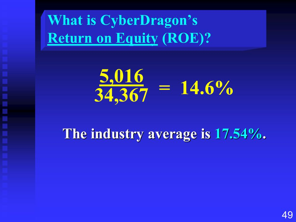What is CyberDragon's Return on Equity (ROE)