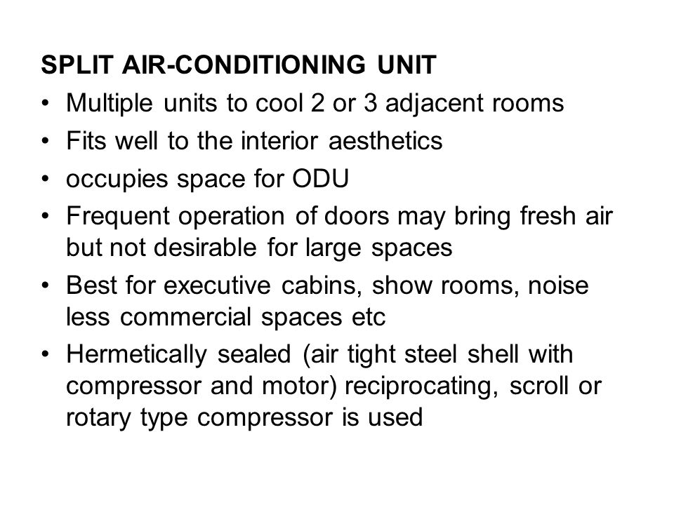 AIRCONDITIONING BASICS - ppt download