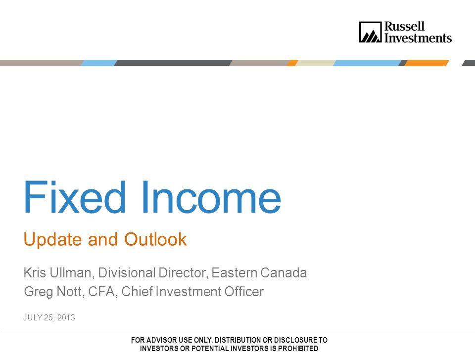 Fixed Income Update and Outlook