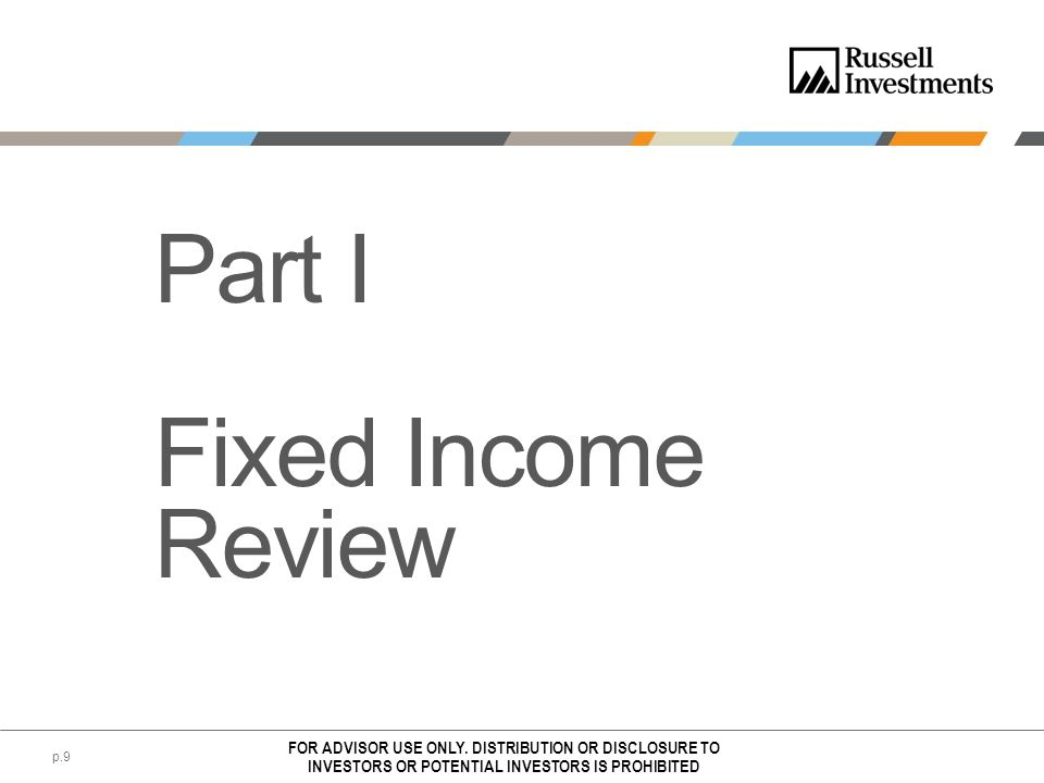 Part I Fixed Income Review