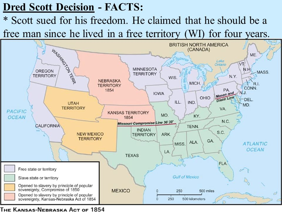 Dred Scott Decision - FACTS: