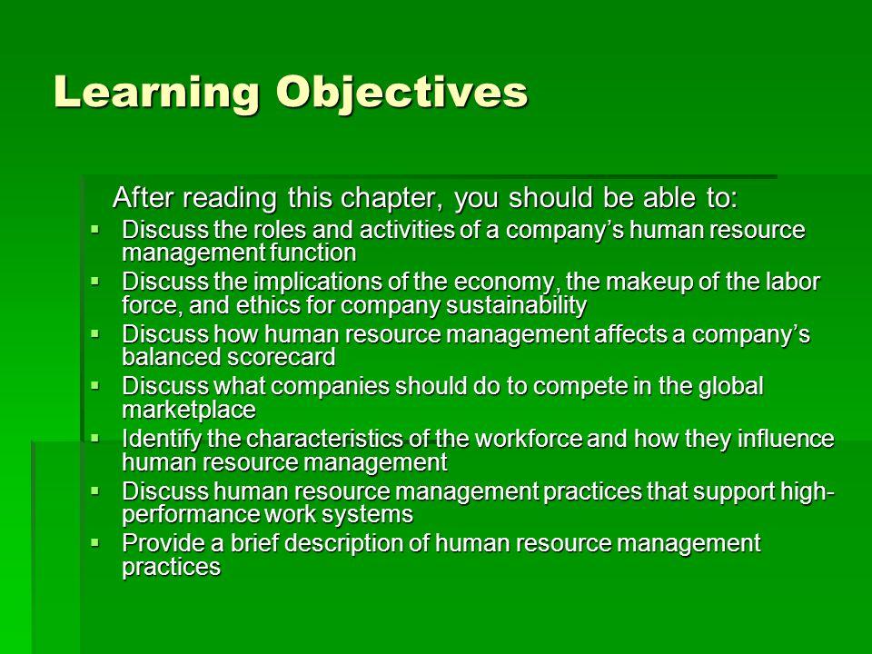 performance management hrm rolesand objectives pdf