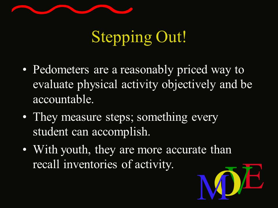 Stepping Out! Pedometers are a reasonably priced way to evaluate physical activity objectively and be accountable.