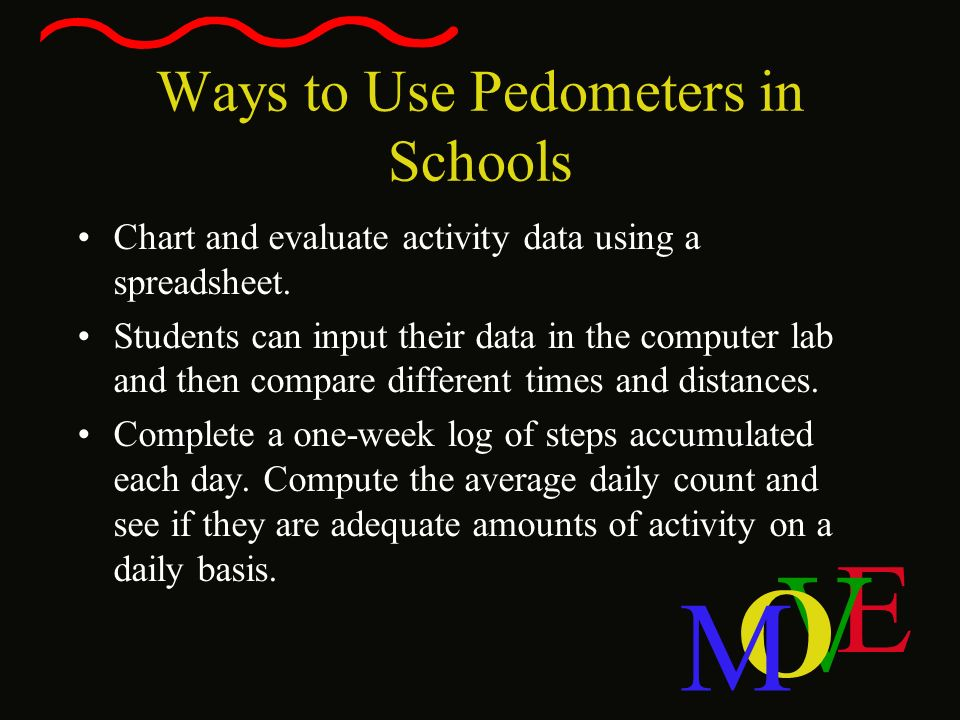 Ways to Use Pedometers in Schools