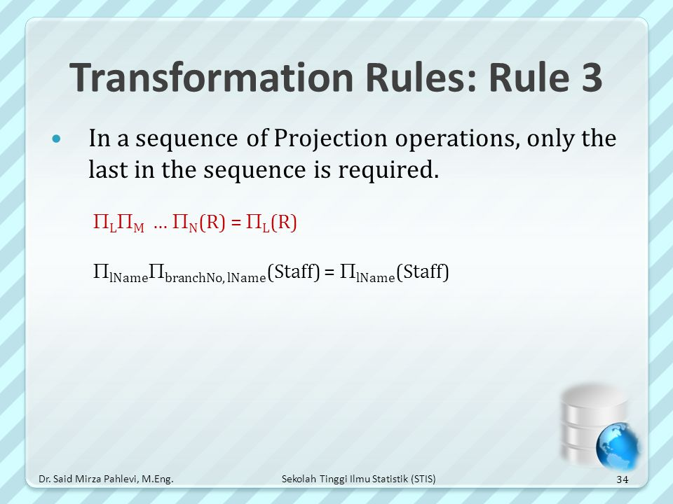 Transformation Rules: Rule 3