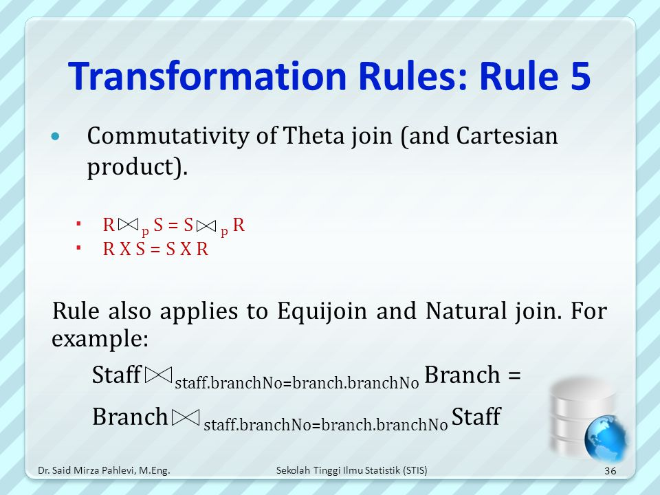 Transformation Rules: Rule 5