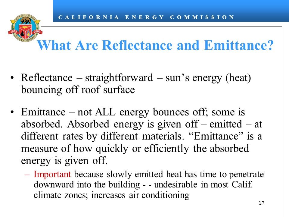 What Are Reflectance and Emittance