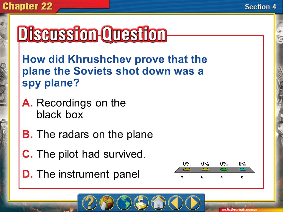 How did Khrushchev prove that the plane the Soviets shot down was a spy plane