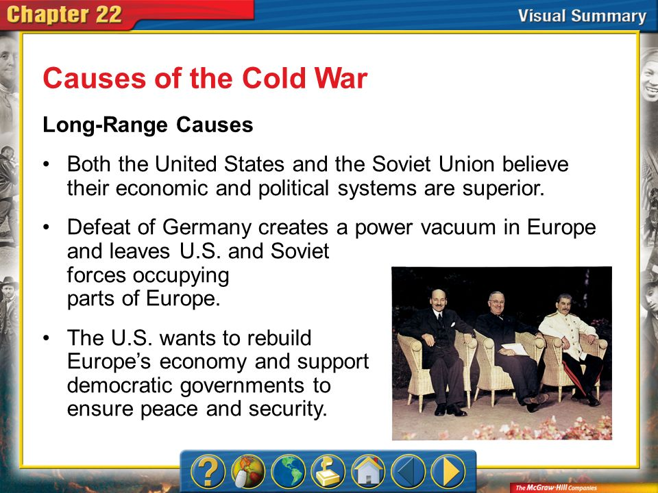 Causes of the Cold War Long-Range Causes