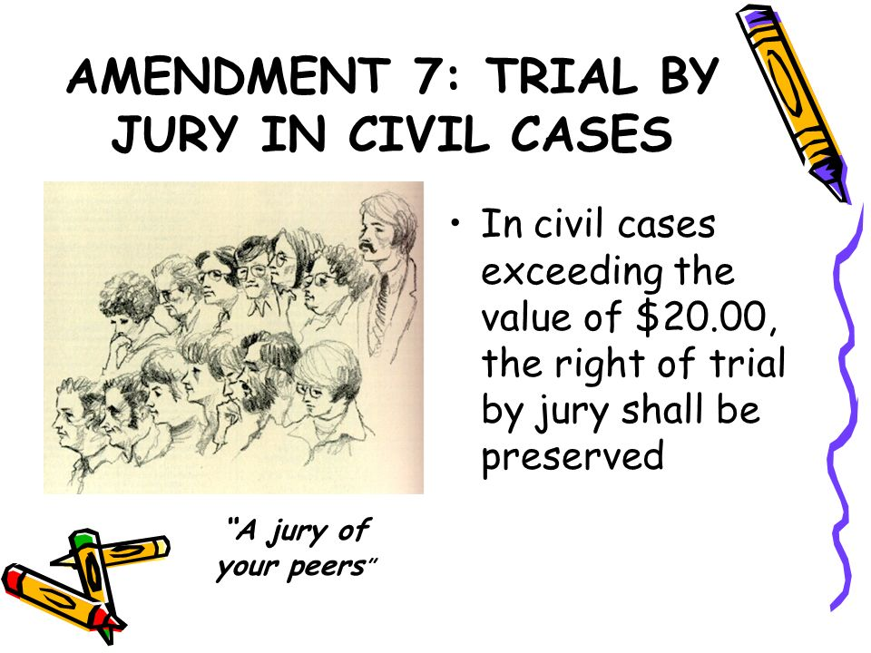 AMENDMENT 7: TRIAL BY JURY IN CIVIL CASES