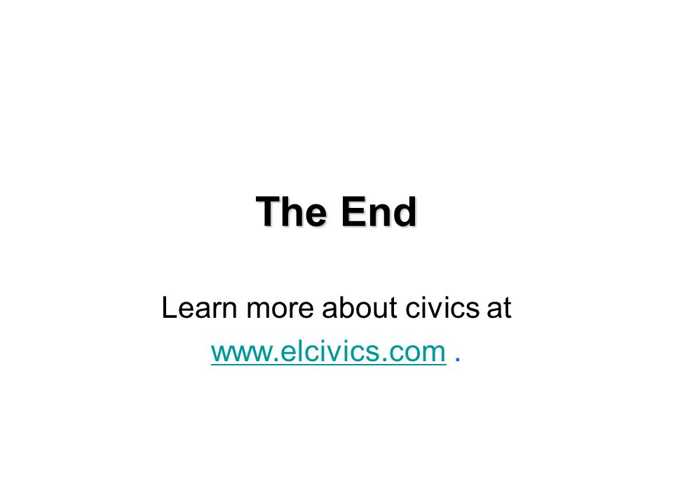 Learn more about civics at   .