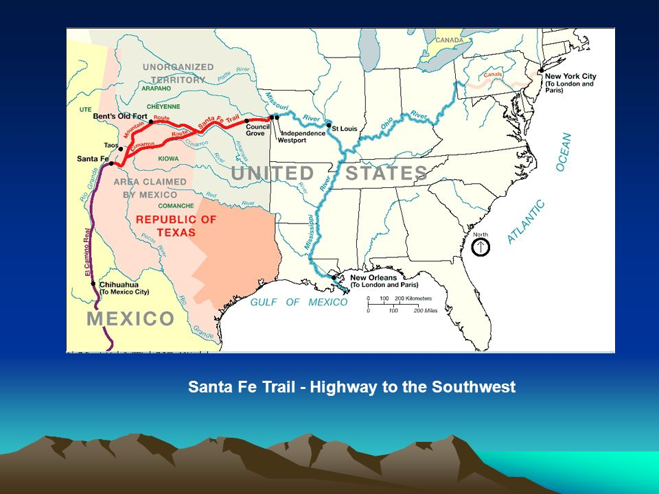 Santa Fe Trail - Highway to the Southwest