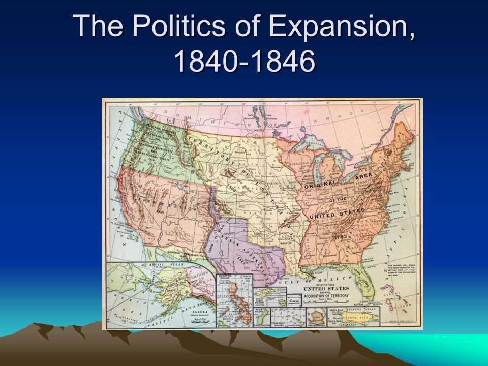 The Politics of Expansion,
