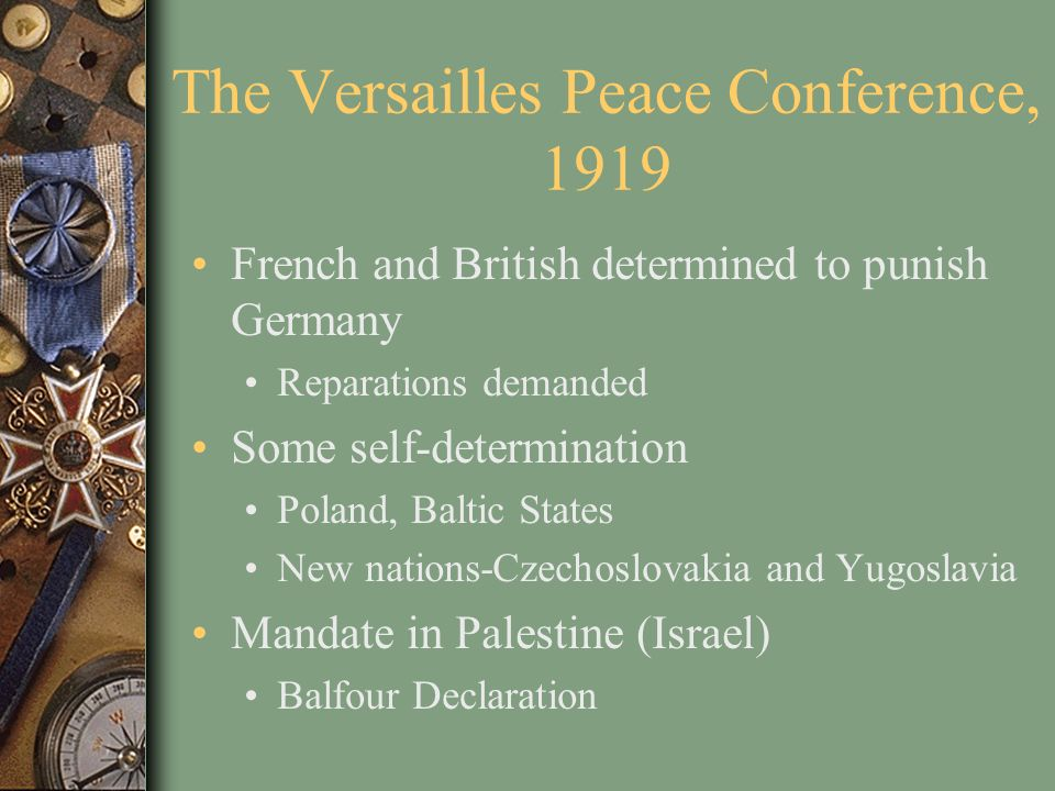 The Versailles Peace Conference, 1919