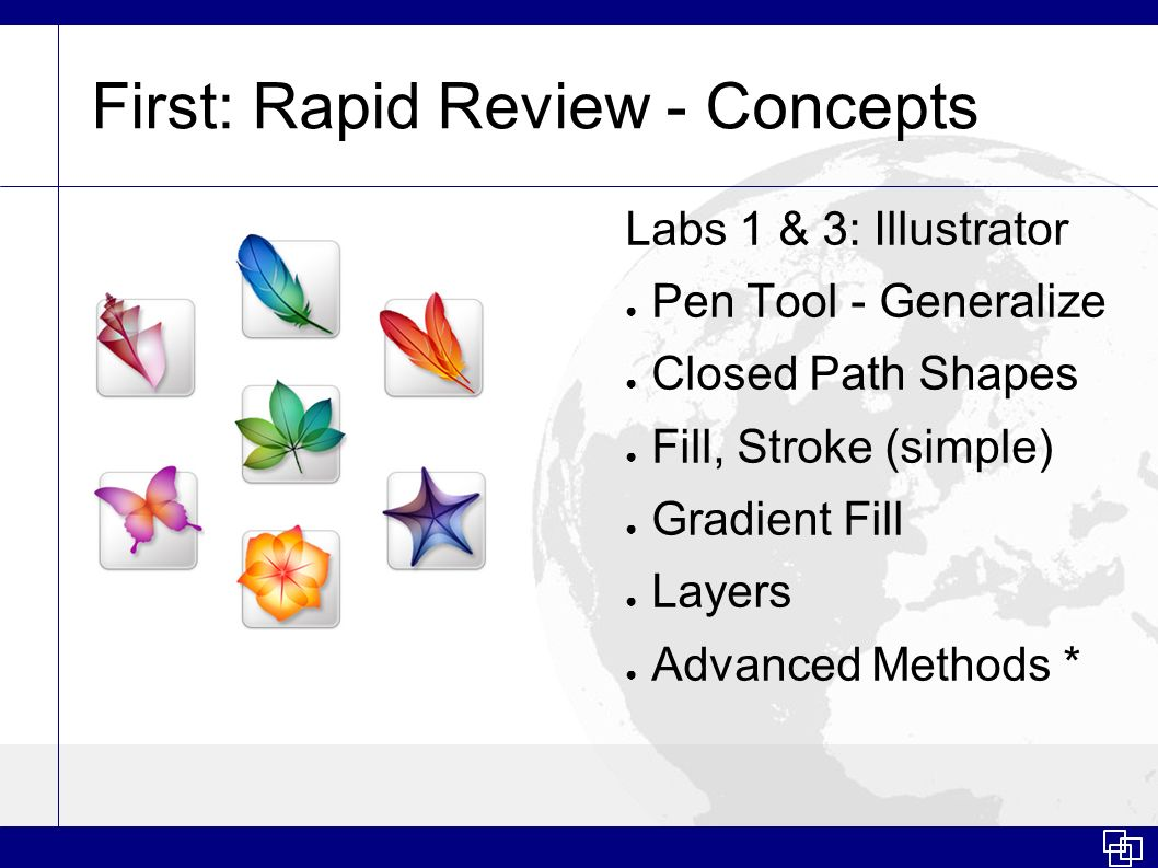 First: Rapid Review - Concepts