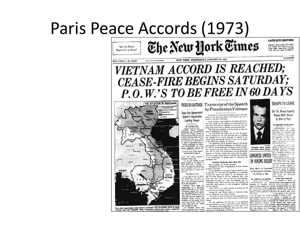 Paris Peace Accords (1973)