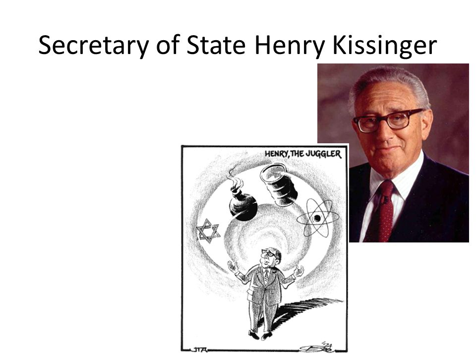Secretary of State Henry Kissinger