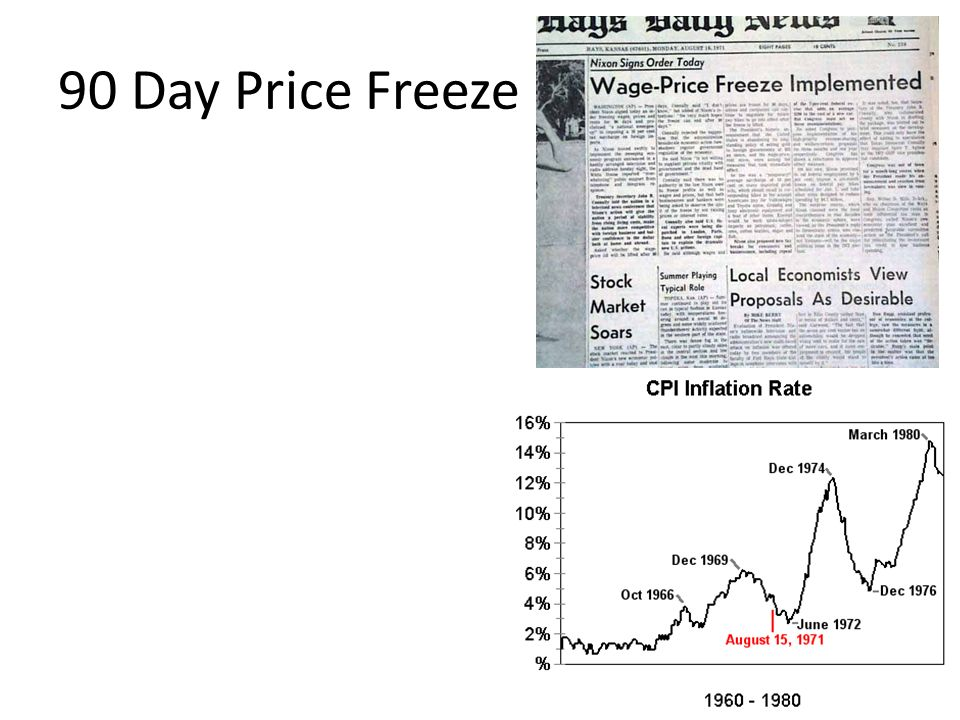 90 Day Price Freeze