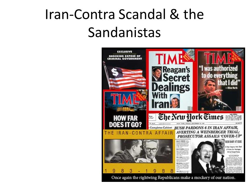 Iran-Contra Scandal & the Sandanistas