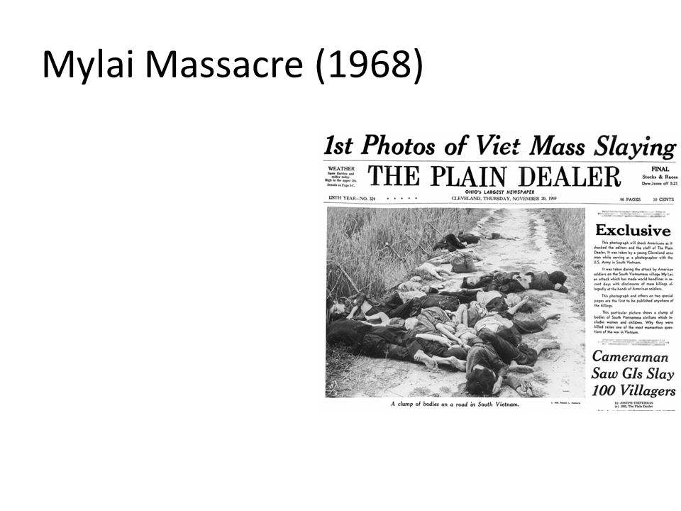 Mylai Massacre (1968)