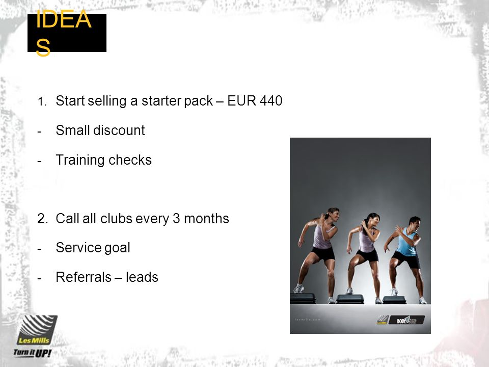IDEAS Start selling a starter pack – EUR 440 Small discount