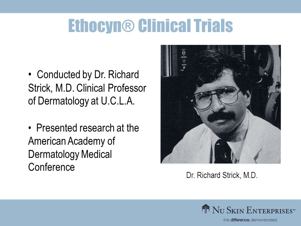 Ethocyn® Clinical Trials