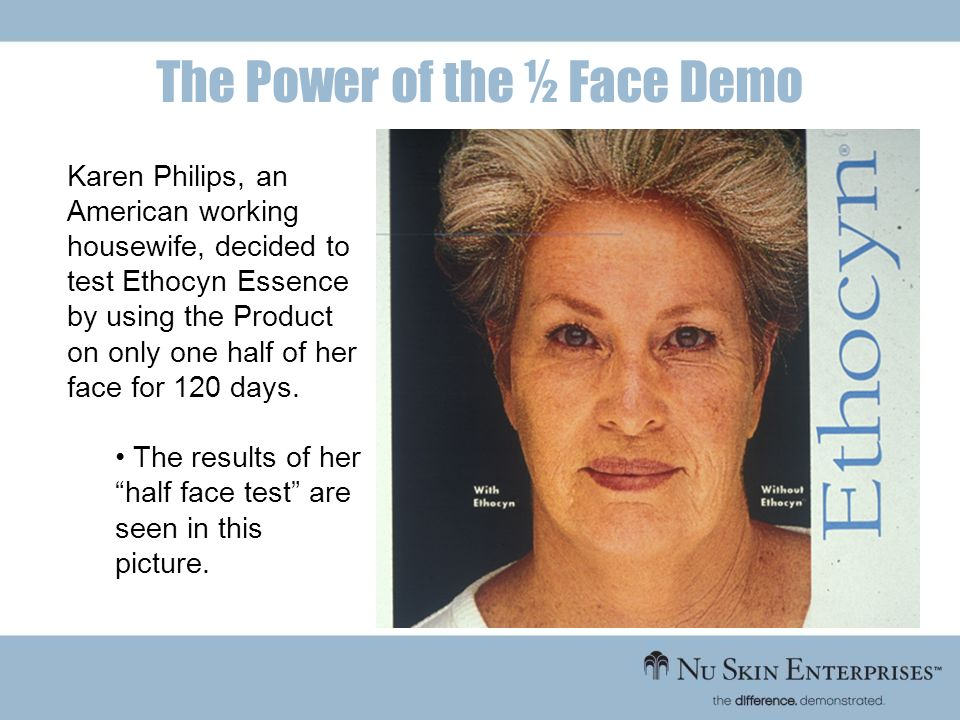 The Power of the ½ Face Demo