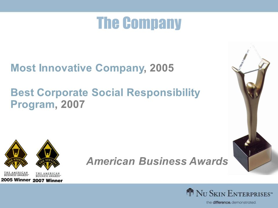 The Company Most Innovative Company, 2005