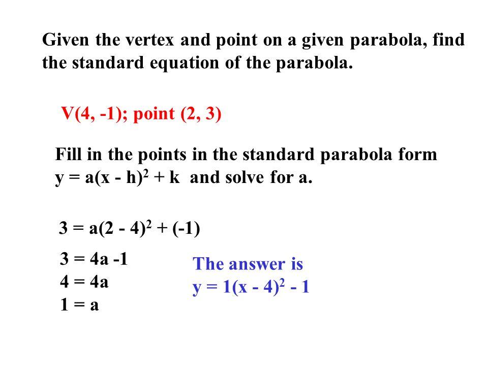 Quadratic Standard Form Calculator Images Free Form Design Examples