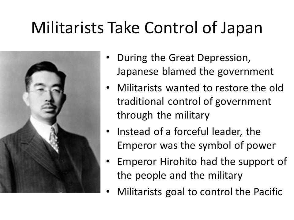 Question 1 Why Did Japanese Militarists Choose The Emperor As A