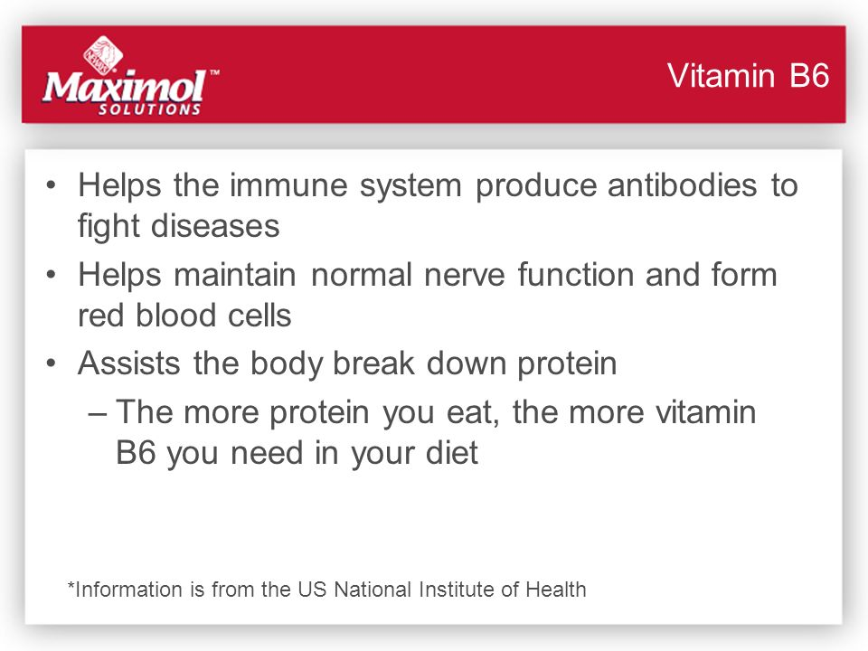 Helps the immune system produce antibodies to fight diseases