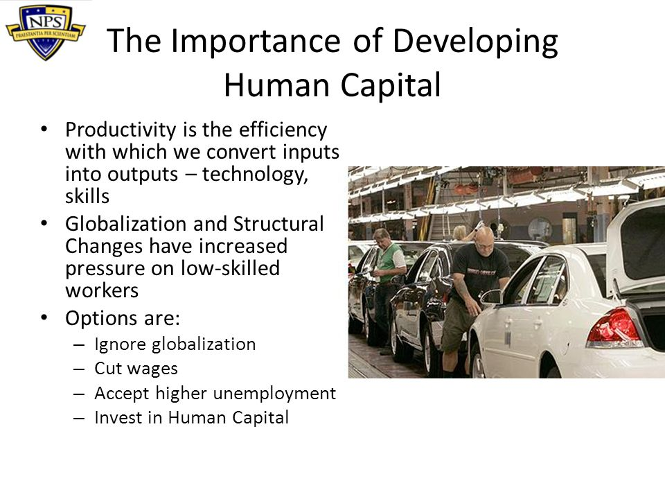 The Importance of Developing Human Capital