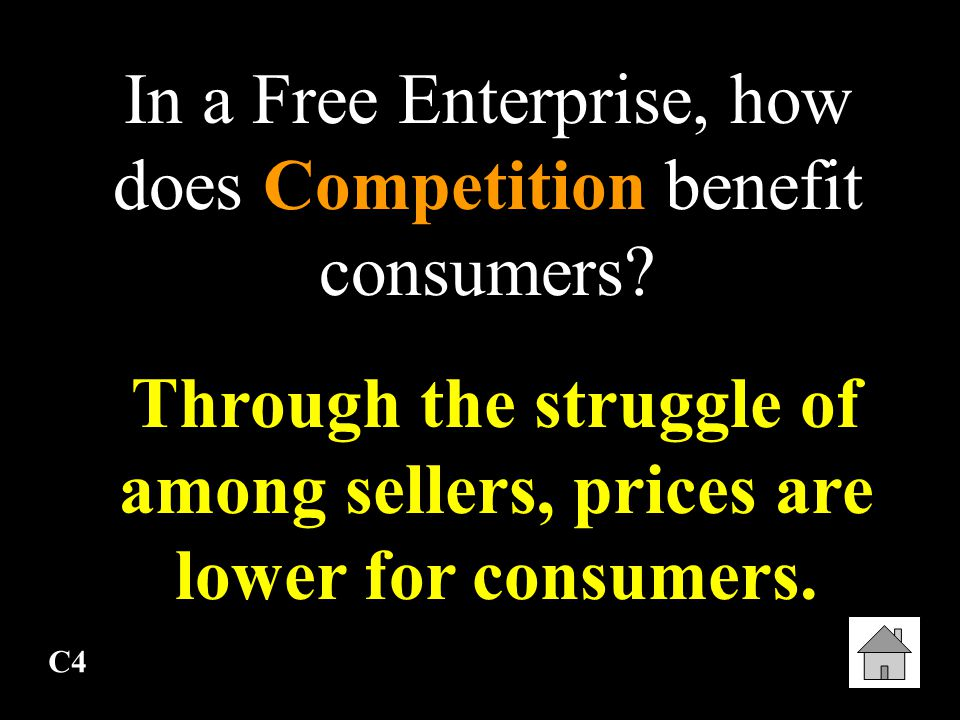 how does competition benefit consumers